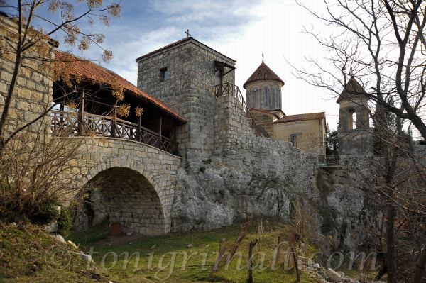 Motsameta monasterio cerca de Kutaisi